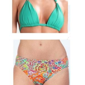Gorgeous NWT Ralph Lauren paisley bikini set!